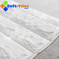 3D Brick Thicken Soft PE Foam Wall Sticker Panels Wallpaper Decor Stone Marble colour Manufactures