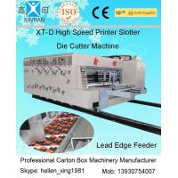 Suction Vacuum Feeder Flexo Printer Slotter Machine For Carton Manufacturing Machine Manufactures