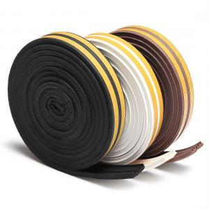 sponge foam EPDM rubber sealing strip self adhesive for house car door trim sealing Manufactures