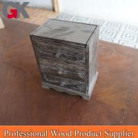 China custom made unfinished wood boxes gift with lids on sale
