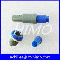 6 pin push pull plastic connector self-locking system PAGPKG Manufactures