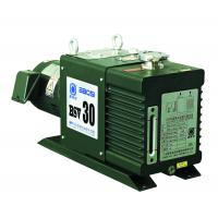 8 L/s Two Stage Rotary Vane Vacuum Pump , BSV30 Green Oil Sealed Rotary Pump