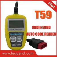 China OBDII / EOBD vehicle fault code reader / Obd ii Code Readers T59 1 Year Warranty  on sale
