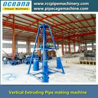 Vertical Extruding concrete Pipe machine 300-1000 Manufactures