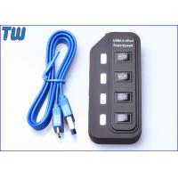 ABS Switch 4 Ports USB 3.0 Hub 5Gbps Speed with LED Indicator showing Manufactures