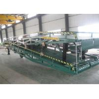 China Customize Design Portable Loading Ramps / Loading Dock Ramps With Solid Tyres on sale