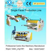 Single Facer Line Shaft Corrugated Sheet Cutter Width 1600mm 0 - 100 m / Min Manufactures