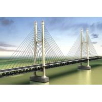 Steel Truss Cable Stay Bridges