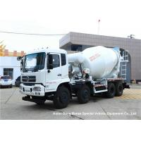 China DFAC 8x4 Concrete Mixer Truck / Cement Mixer Truck 12 Wheeler 14 -16 CBM on sale