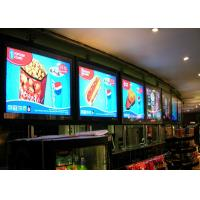 Commerical Advertising bank digital signage for restaurants signage and display Manufactures