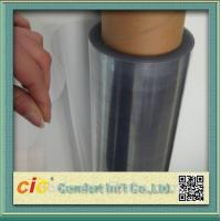 Transparent 100 PVC Self Adhesive Film , Cold Lamination PVC Decorative Film Manufactures