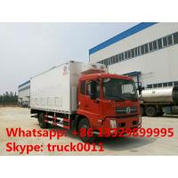 Dongfeng tianjin 40,000-45,000 baby chick transportation truck for sale, dongfeng LHD 4*2 day old chick truck for sale Manufactures