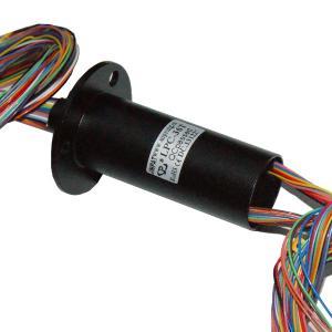 6mm Through Hole Rotary Slip Ring , 36 Circuits Flexible Capsule Crane Slip Ring