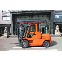 High Mast Manual Diesel Forklift Truck 5 Ton With Cabin And Air Conditioner
