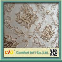 China Jacquard Embossed Modern Decorative Wallpaper for bedrooms wholesale