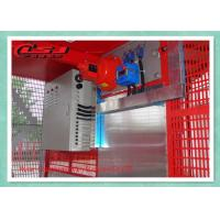 2000KG Capacity Personnel And Materials Hoist Double Cages 34m/Min Speed