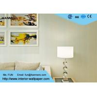 China Modern Contemporary Wall Coverings / Breathable Striped Wallpaper for Living Room wholesale