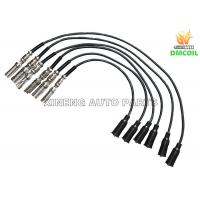 China Custom Plug Wires / Auto Spark Plug Wires Anti Interference For Volkswage Skoda Audi on sale