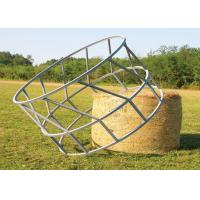 China Cattle Hay Bale Feeder With Size  1X2meter Galvanized or PVC coated 8 Feed Place on it wholesale