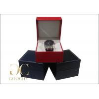 China Wedding Gift Leather Watch Boxes / Leather Watch Storage Case on sale