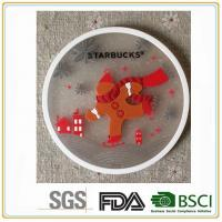High quality with low price100% pvc and rubber silicone drink coaster home furnishings