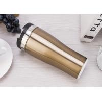 The Travel Mug That Won't Fall with Double Wall Vacuum Insulation