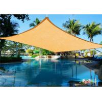 China Triangle Outdoor Sun Shade Sail / Waterproof Shade Sails 3 X 3m on sale