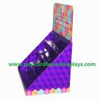 Greeting cards cardboard counter display portable store display box display case Manufactures