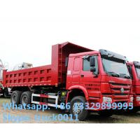 China SINO TRUK HOWO RHD 30ton 371hp dump truck for sale, HOWO brand 6*4 30tons  sand and coal dump tipper truck wholesale