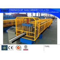 Square Gutter Down Pipe Roll Forming Machine Portable Rainwater Gutter Manufactures