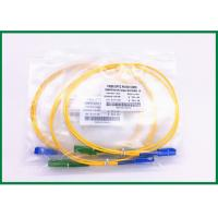 China PVC Jacket E2000 Sc Fiber Optic Patch Cord Single Mode Patch Cord on sale