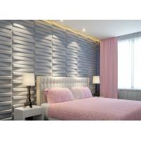 China 3D Wood Texture Wall Paper 3D Wall Tile for Kitchen / Living Room / Bedroom Wall Decoration on sale