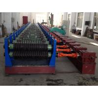 250KW Double Layer Roll Forming Machine / Drain Pipe Making Machine Manufactures