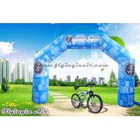 Buy cheap Full Printing Blue Inflatable Arch, Air Sports Archway, Advertising Arch for Sale from wholesalers