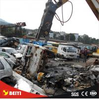China Excavator Use Construction Equitment Hydraulic Pulverizer scrap steel sheet  Demolition Shear on sale