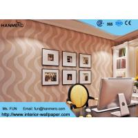 Bedroom Luxury Non Woven Wallcovering For Home Decoration , Foam Surface Treatment Manufactures