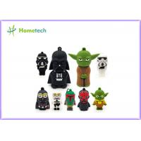 China Star Wars Toys Customized Pen Drives 64gb , Cartoon Usb Flash Drive For Gift wholesale