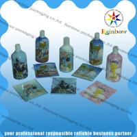 Colored Printing Shrink Sleeve Labels 40 - 60 Micron For Plastic Bottles Manufactures