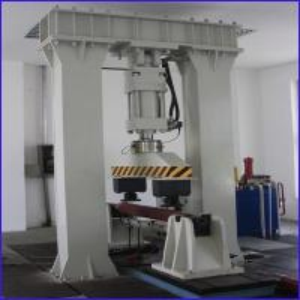 China Electro hydraulic railroad rail pulse fatigue testing machine wholesale