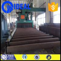 China new steel plate pretreatment line for removing rust and decontamination on sale