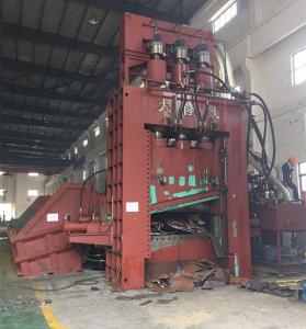 China 900 KW PSX Scrap Steel Shredder Machine Flattened Car Bodies Tin Plate PLC Operation on sale