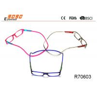 Click Reader Eyeglasses Full Rim Clear Magnetic Reading Glasses Manufactures
