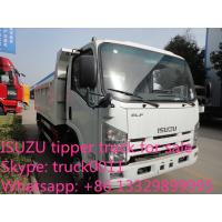 China ISUZU 4*2 6-8ton dump truck for sale, factory sale China cheaper prcie ISUZU brand dump tipprt truck wholesale