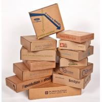 China Waterproof Cardboard Mailing Boxes , Custom Packing Boxes With Recycled Materials wholesale