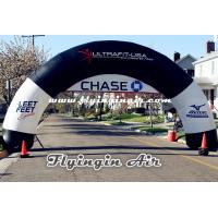 Black Inflatable Start and Finish Arch for Business and Events Manufactures