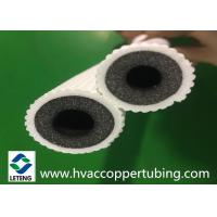 China Flexible Air Conditioning Tubes , IXPE / EPE / PE Home Air Conditioning Thermal Insulation Tube on sale