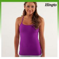 China Pink Breathable Trendy Hot Yoga Clothes , Customized Ladies Fitness Dresses on sale