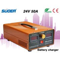 China Suoer Car Battery Charger 50A Battery Charger 24v Car Battery Charger with Power Start Fun wholesale