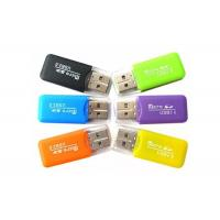 External Installation Portable Memory Card Reader For Micro SD SDHC SDXC TF Manufactures