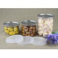 Food Grade Transparent PET Clear Plastic Cylinder for Dried Fruits and Nuts Manufactures